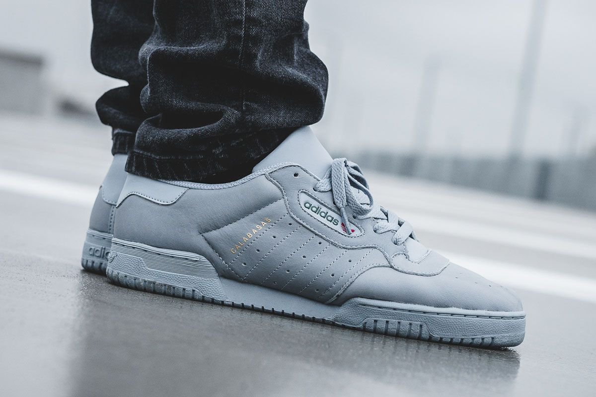On Foot: adidas Yeezy Powerphase