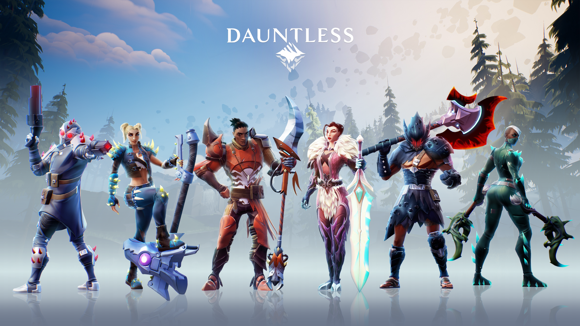 Dauntless Wallpaper, characters take from the new website
