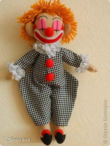 Игрушка клоуны своими руками