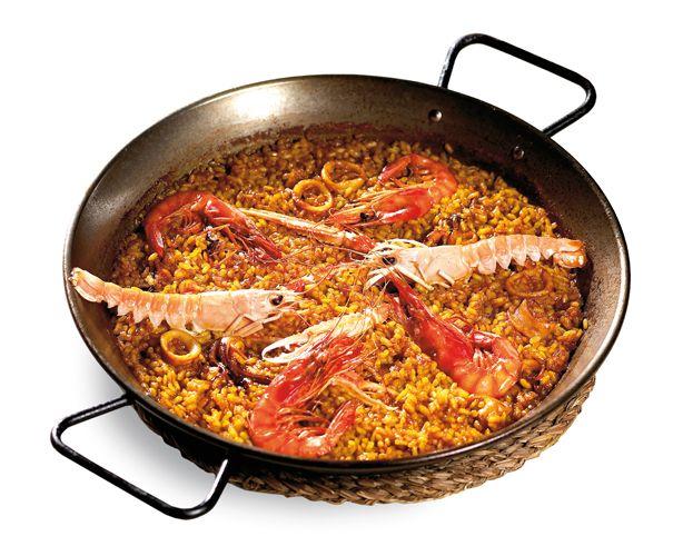 CookinArt Paella de Cigala y Gambas.