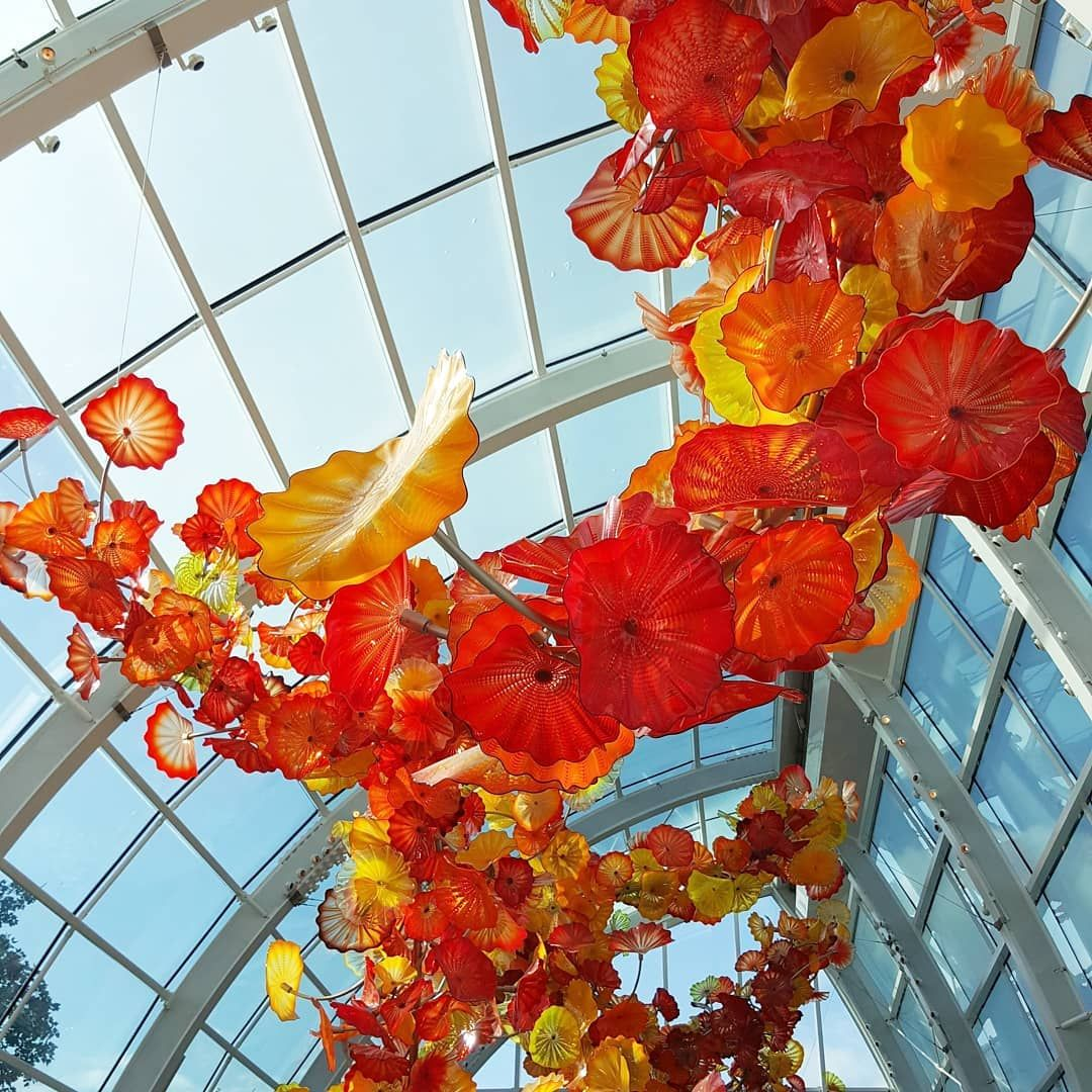 Last ticket sold 45 minutes before posted closing time. Tanya Taylor Ttaylor2u2 Posted On Instagram The Artwork Artwork At Chihuly Garden And Glass In Seattle Is Spectacular The Cr Chihuly Artwork Tanya Taylor