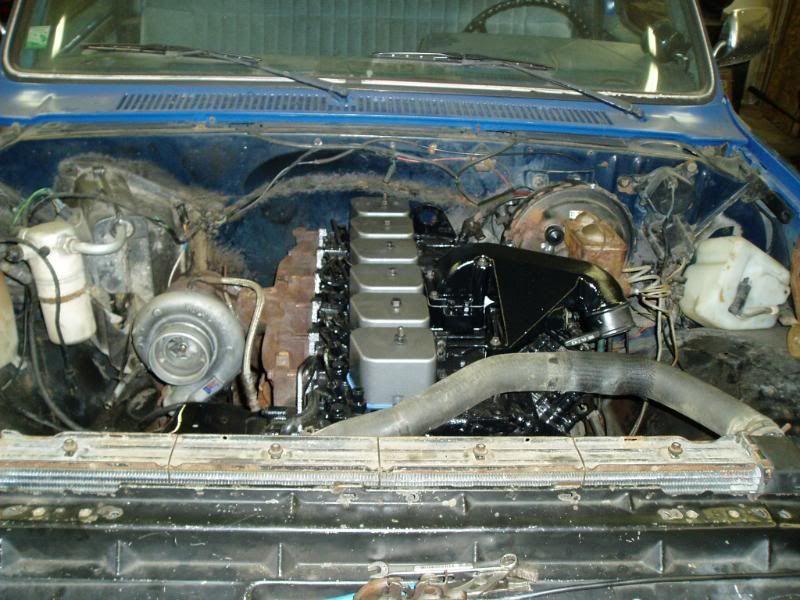 85 k20 chevy/cummins conversion underway! - Dodge Cummins