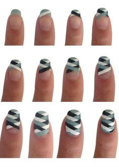 Diy Nail Art Ideas Step By