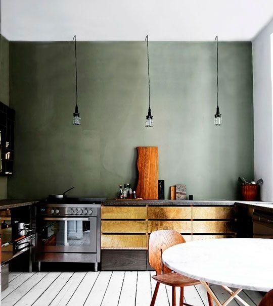5x glamorous goud in de keuken   ELLE Decoration NL - Inspiratie ons ...