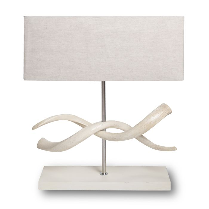 Twisted kudu lamp double kudu horns twisted with linen lamp shade twisted kudu lamp double kudu horns twisted with linen lamp shade ul certified cites approved overall height 26 shade dimensions 22 x 9 x 9 mozeypictures Gallery