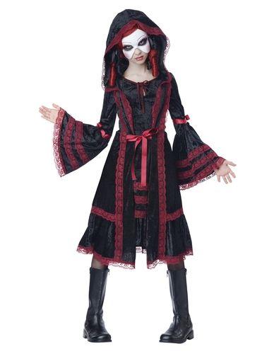 Goth Doll Tween Costume from Spirit Halloween on Catalog Spree, my