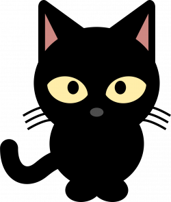 Cat Clip Art Transparent Background Png Freeuse Download Cat Clipart Free Clip Art Black Cat Illustration