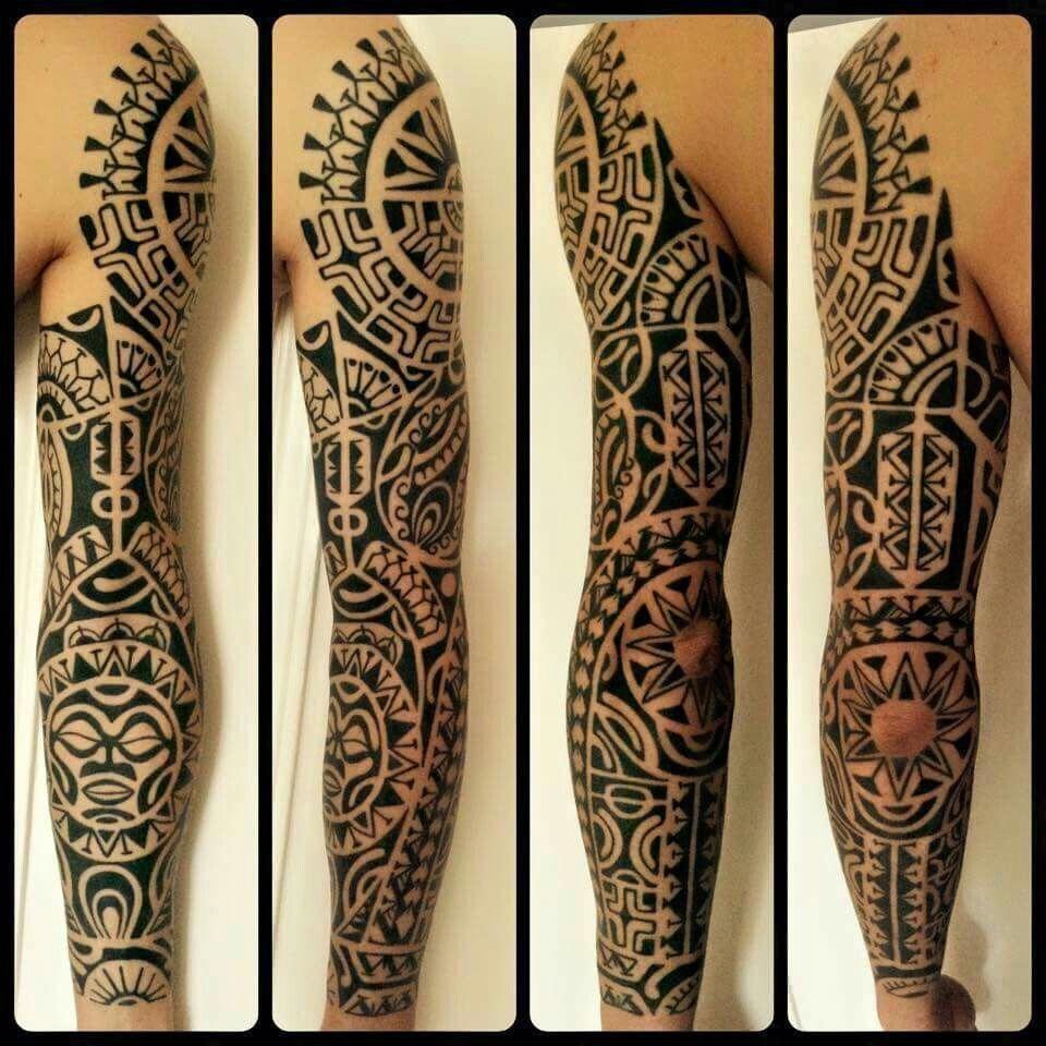 Polynesian Tattoos History Polynesiantattoos Maori Tattoo Polynesian Tattoo Sleeve Tattoos