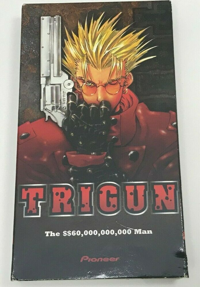 TRIGUN The 60,000,000,000 MAN English Dubbed VHS 1998