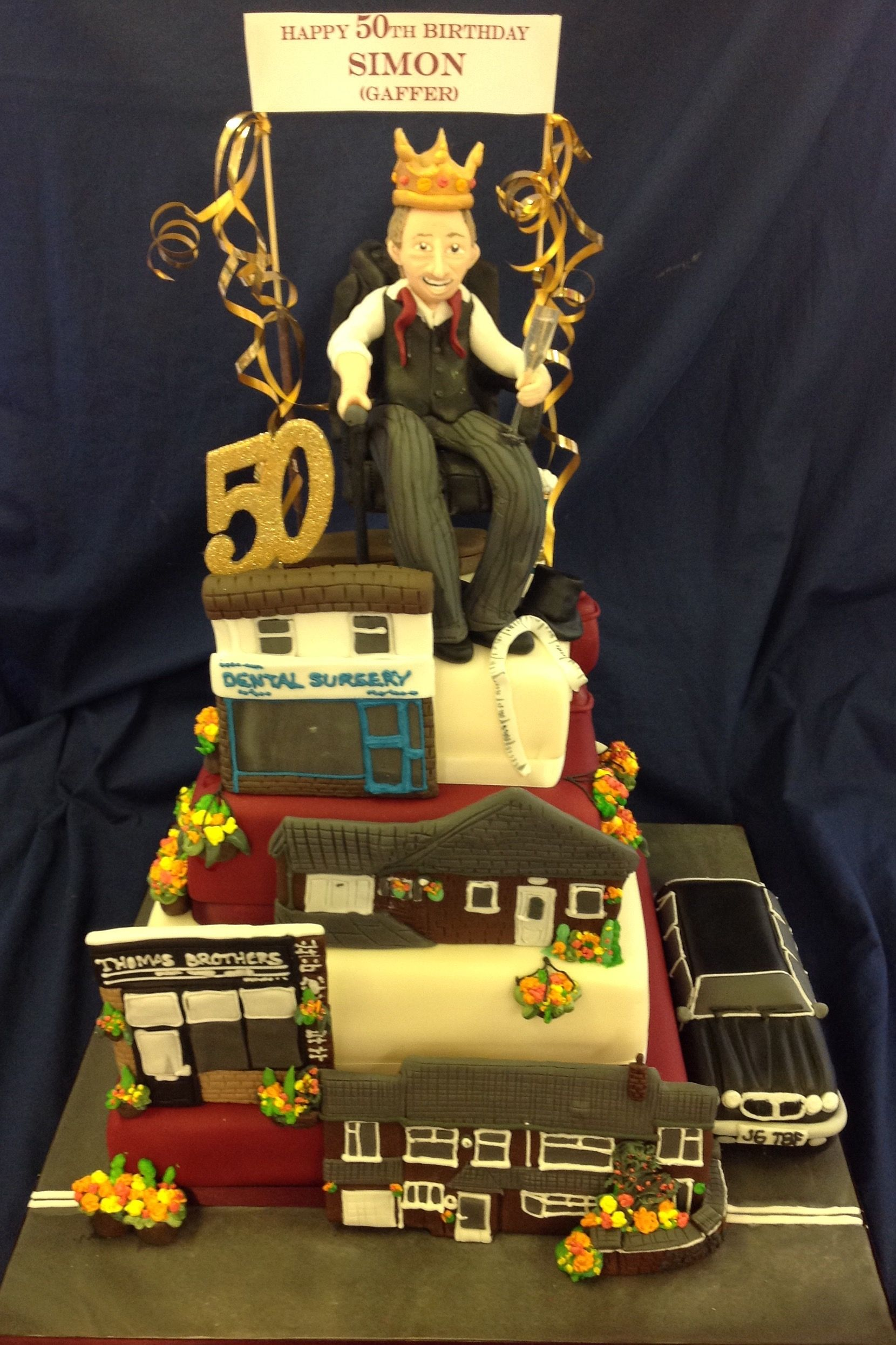 Funeral Directors Birthday Cake Just A Few Of Our Cakes