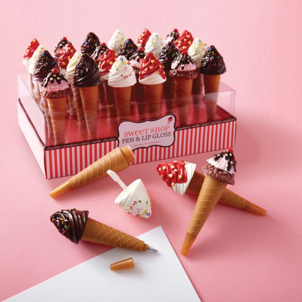 Ice Cream Lip Gloss Pen Luxury [Apothecary] Shopping