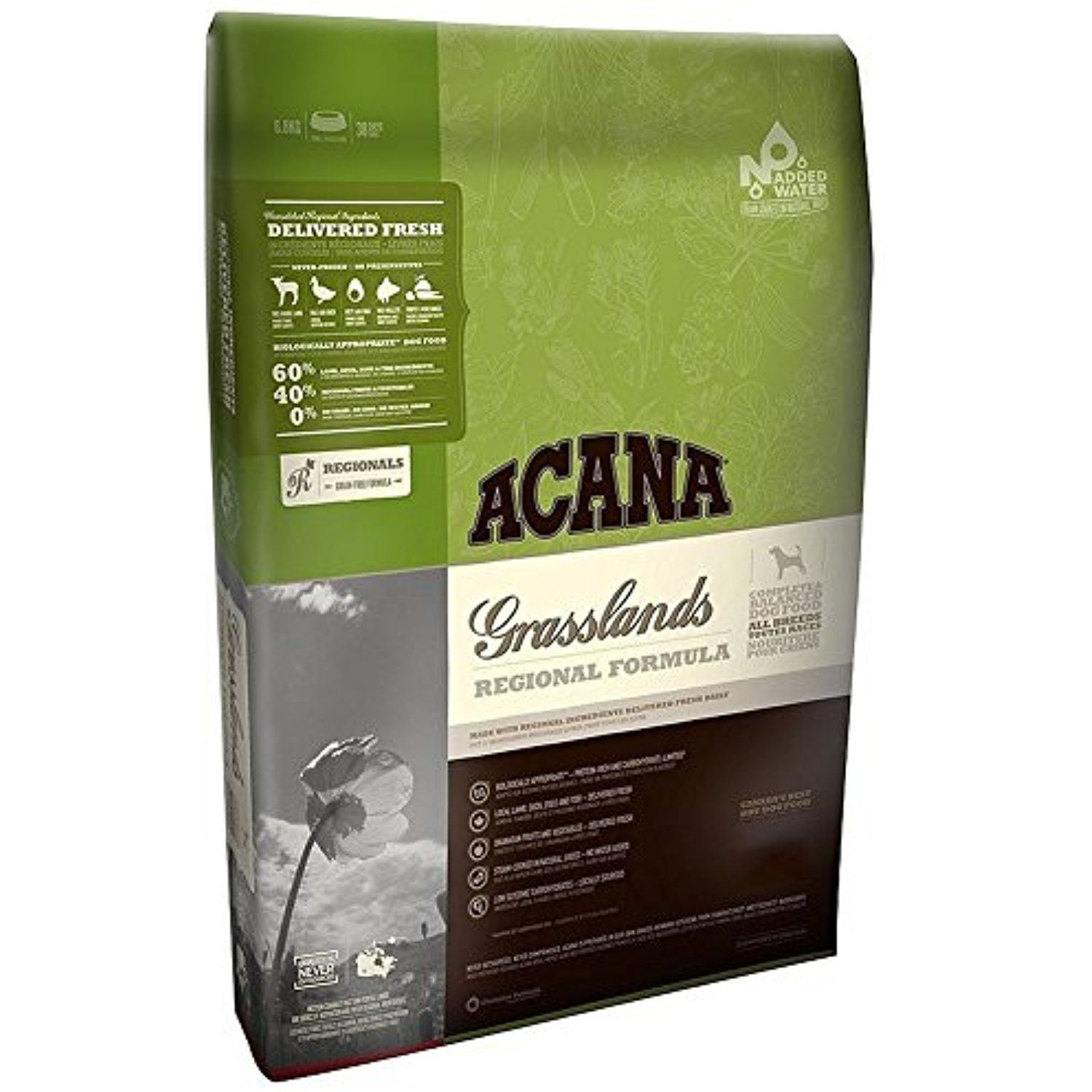 ACANA Grasslands Regional Formula GrainFree Dry Dog Food