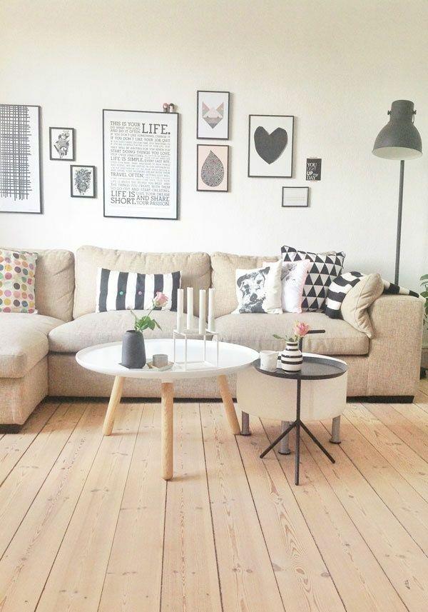 50 helle wohnzimmereinrichtung ideen wohnen pinterest wohnzimmer haus und einrichtung. Black Bedroom Furniture Sets. Home Design Ideas