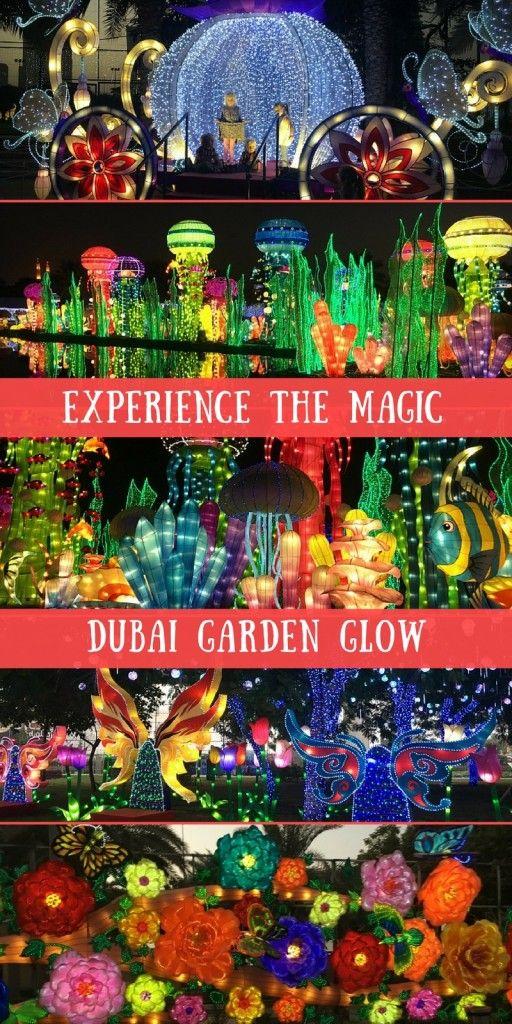 Dubai Garden Glow with kids Dubai garden, Dubai, Dubai