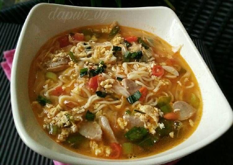 Resep Mie Tek Tek Pedas Dari Mie Instan Goreng Oleh Dapurvy Resep Resep Masakan Makanan Dan Minuman