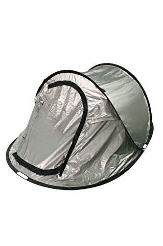 Mountain Warehouse Black Out Pop-Up Double Skin 3 Man Tent Silver /  sc 1 st  Pinterest & Mountain Warehouse Black Out Pop-Up Double Skin 3 Man Tent Silver ...