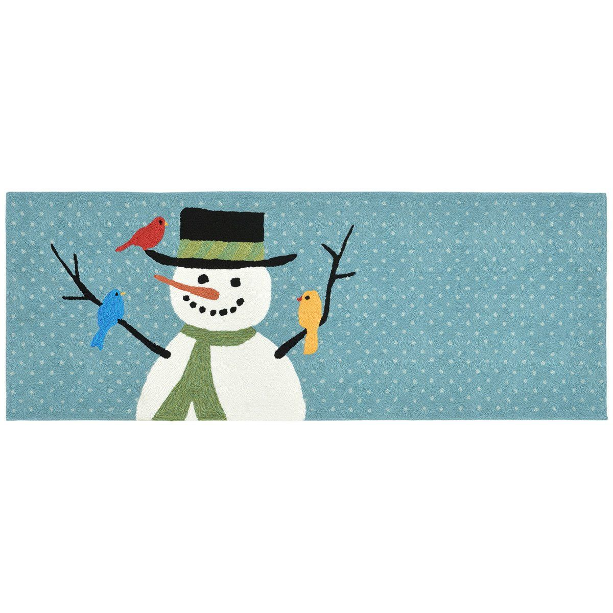 This holiday mat will truly complete your holiday decorating. It ...
