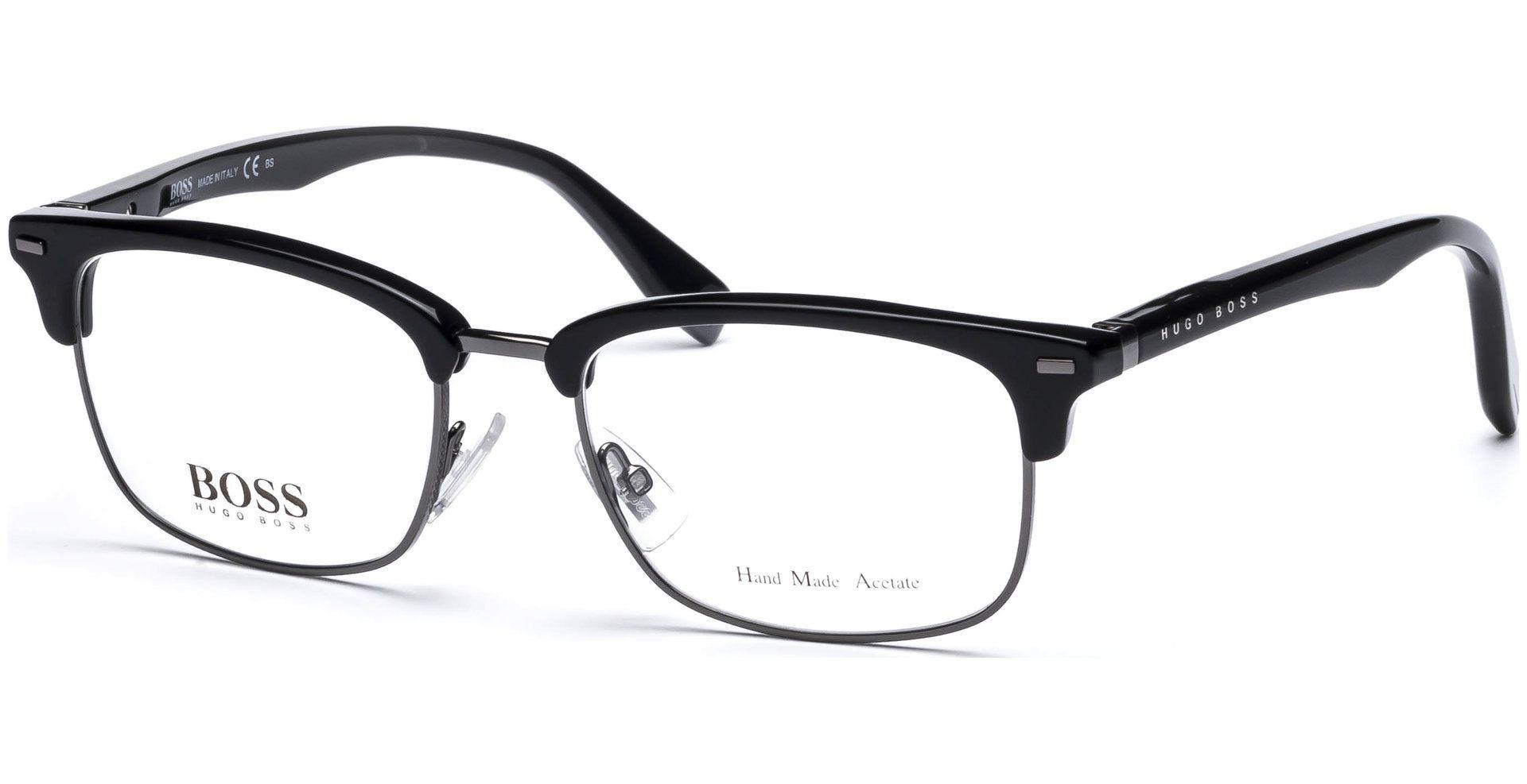 Boss Hugo Boss Bo0711 W3h 5218 Bkdkrut Blk Von Lensbest Mit Bildern Herren Brillen Hugo Boss Herrin