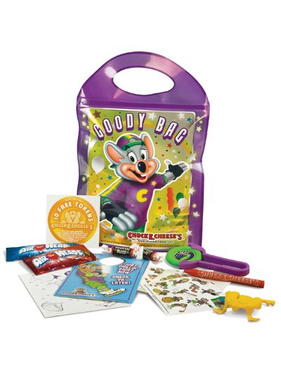 chuck e cheese goody bags - Google Search