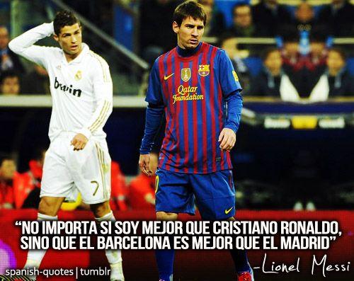 No Importa Si Soy Mejor Que Cristiano Ronaldo Sino Que El