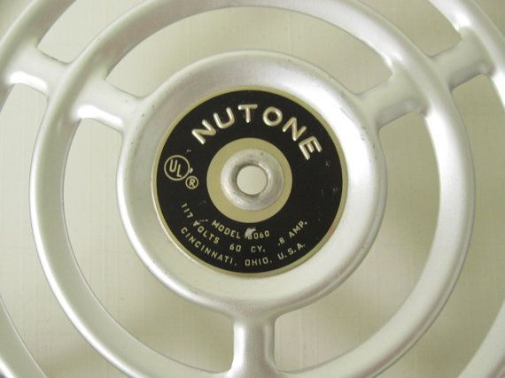 Nutone Kitchen Exhaust Fan Grate Cover 8060 by ...