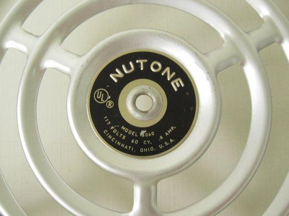 . Nutone Kitchen Exhaust Fan Grate Cover 8060 by LaurasLastDitch