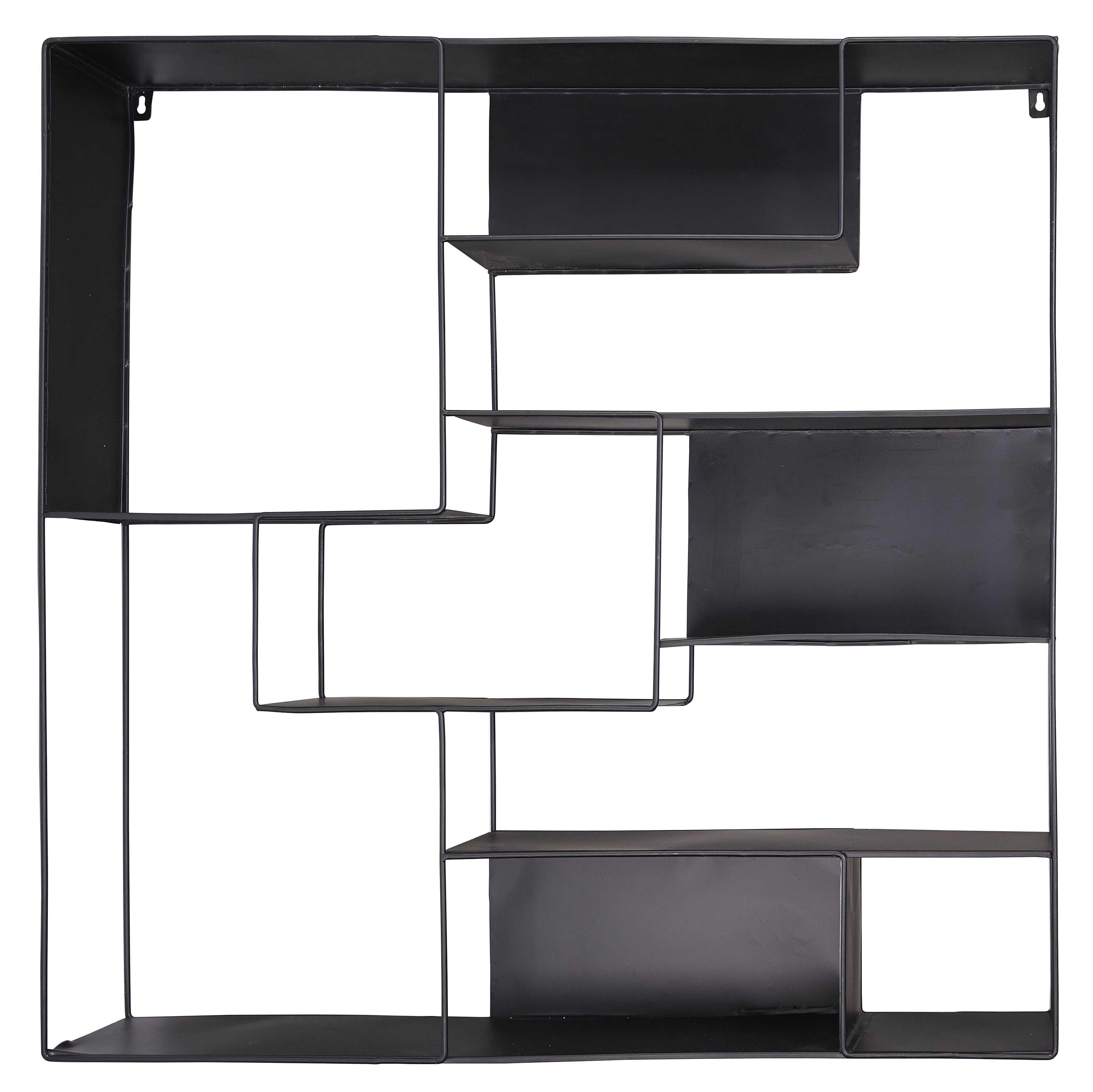 Regal aus schwarzem Metall LOUDMI   Deco ideas   Pinterest   Metal ...