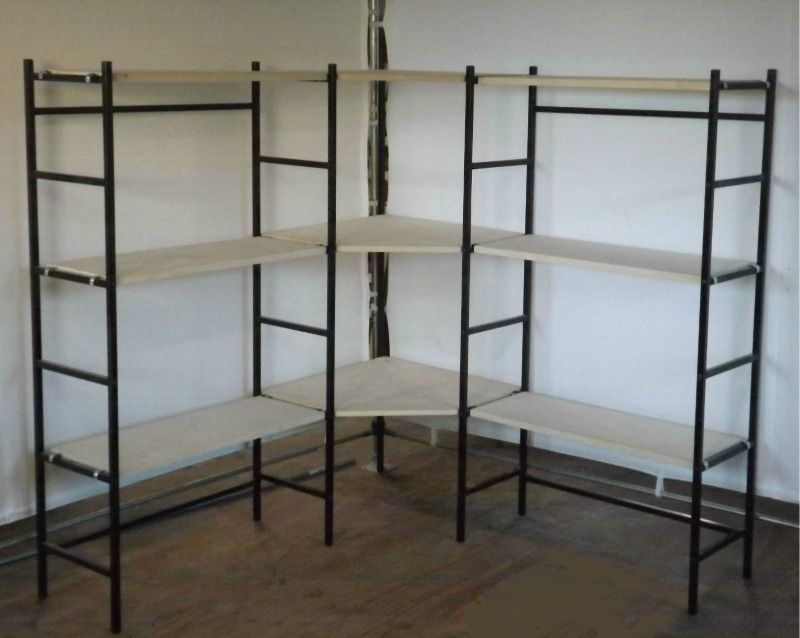 Unique Portable display shelves from Evanswoodworks.com. Fold up an  YJ64