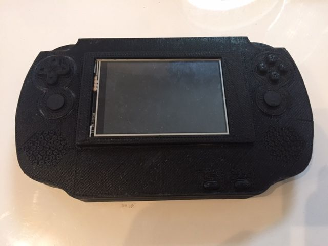 Console Portable Recalbox by Cluf20 - Thingiverse | retro