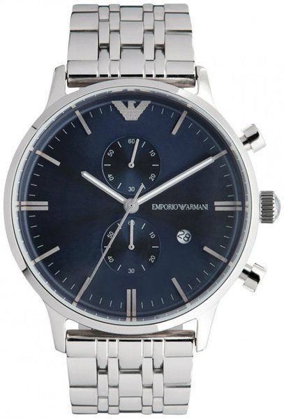 80b3fcf4925 Emporio Armani AR1648 Classic Blue Dial Men s Watch