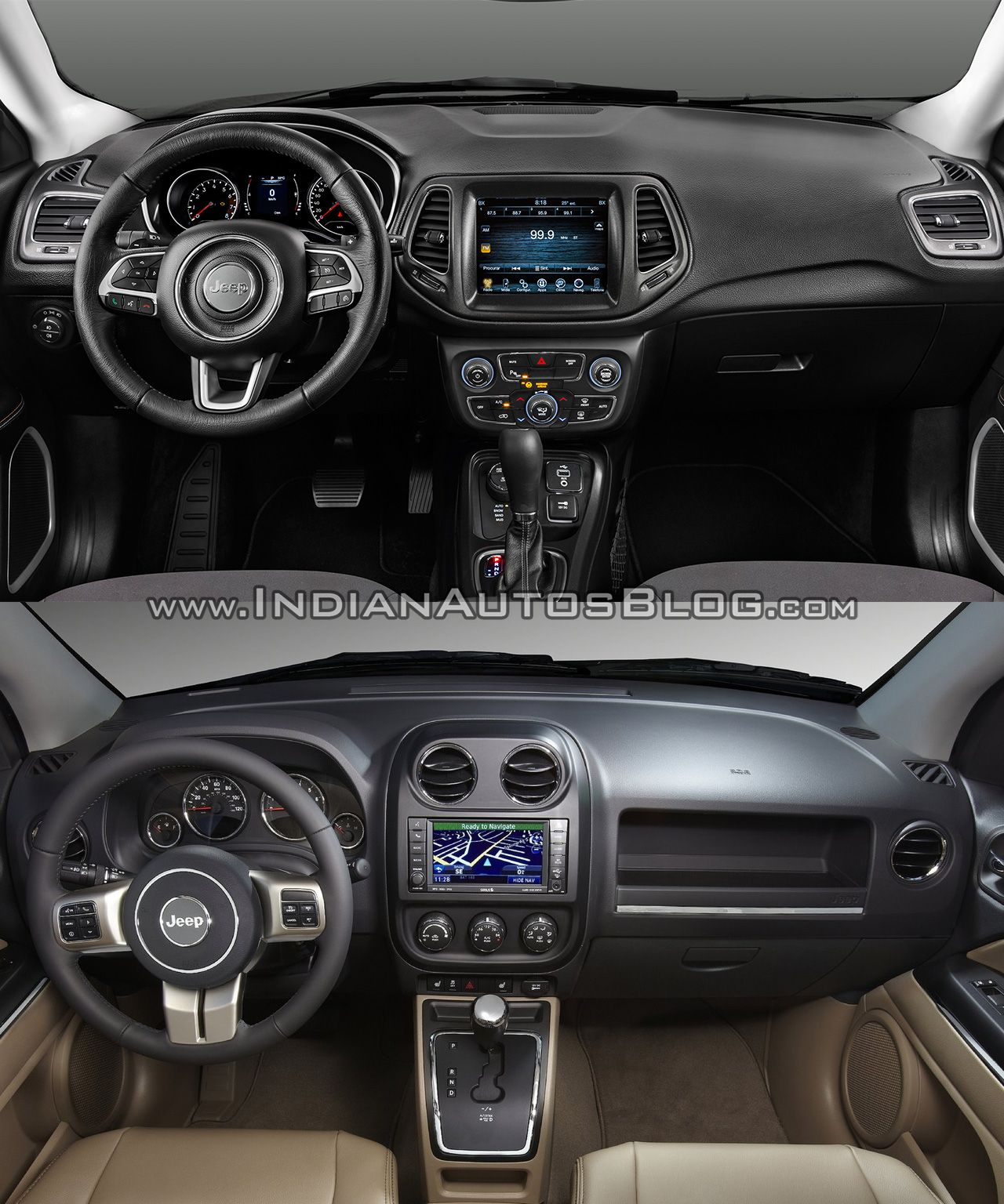 2017 Jeep Compass Vs 2011 Jeep Compass In Images Carros Auto Motos