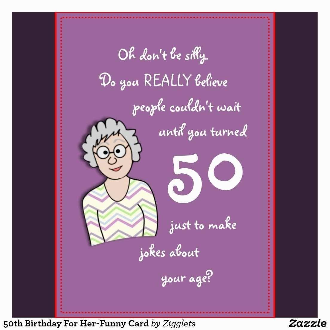 50th Birthday Invitations for Her Happy 50th Birthday