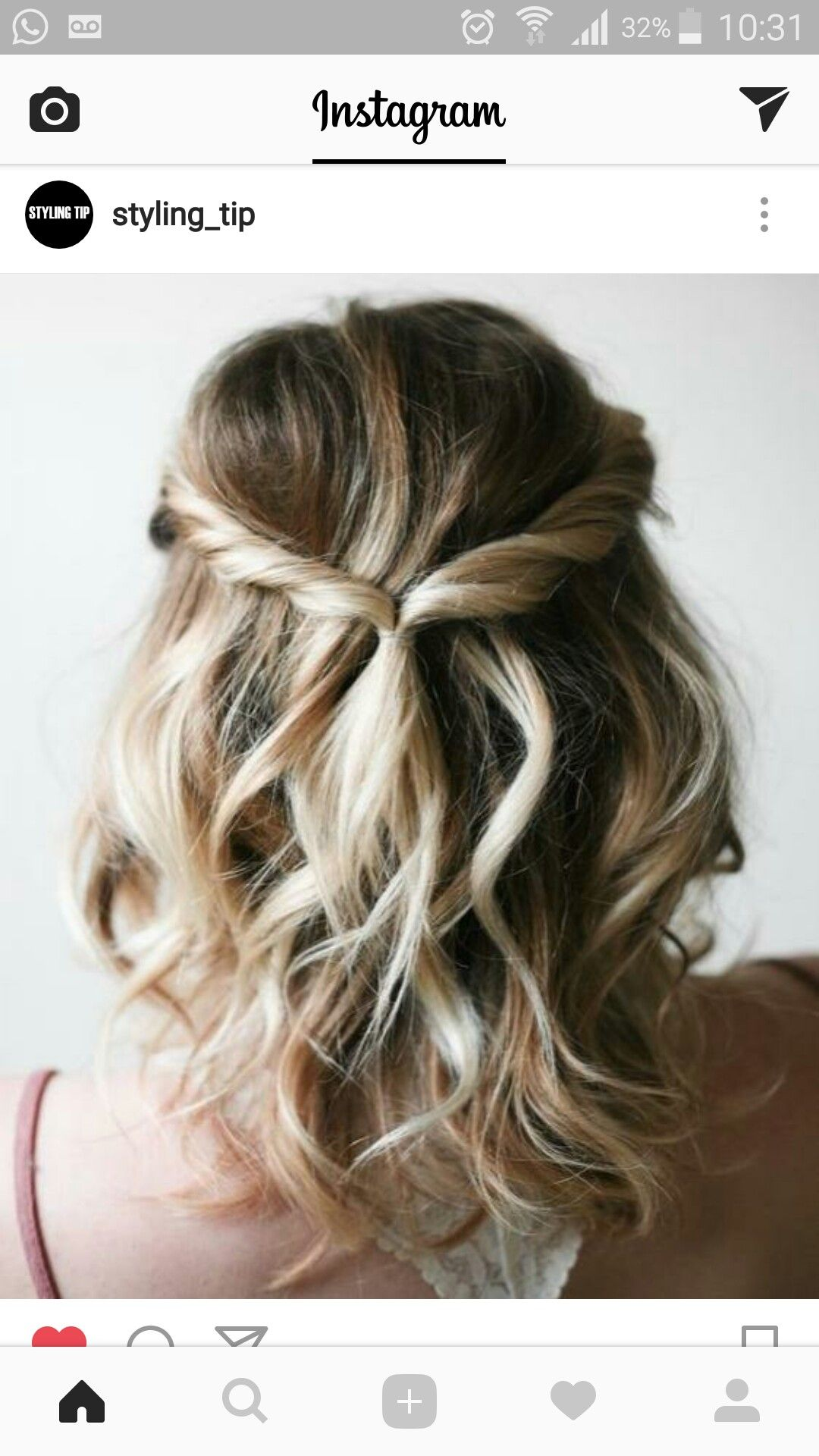 Pin by Melissa on Hair Pinterest
