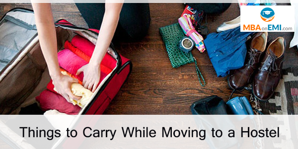 Here is a list of all the crucial things that you need to carry in case you are moving to a hostel for your higher education in a different city than your hometown.