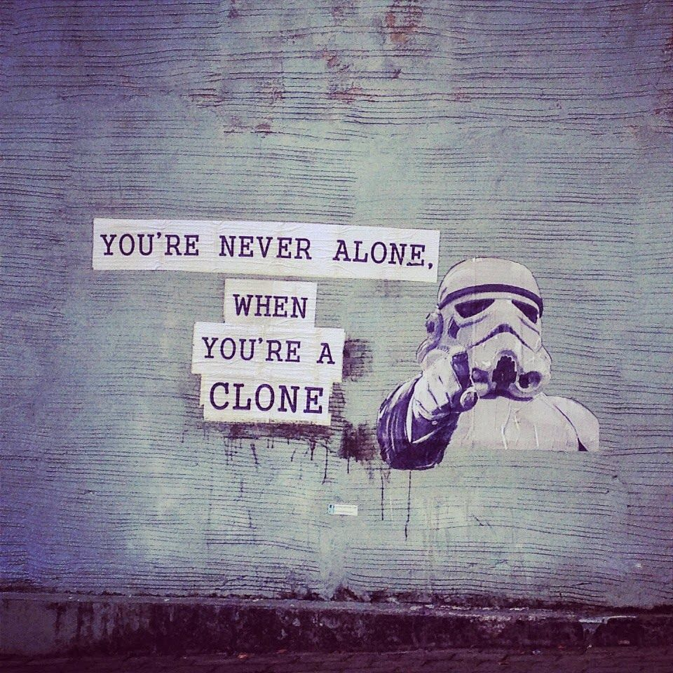 You are never alone when you're a clone
