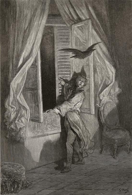 Image result for paul gustave doré raven