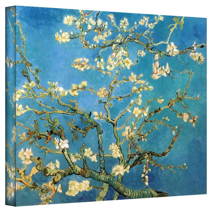 Van Gogh Almond Blossom Canvas Reproduction | Images | Pinterest