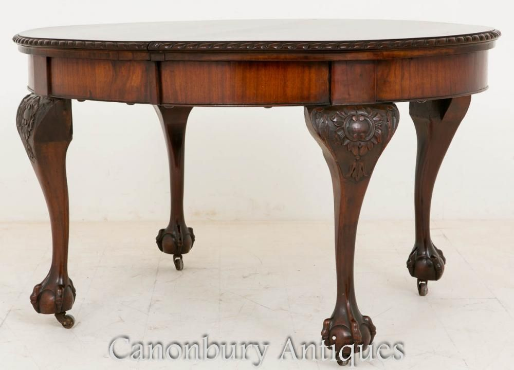 Victorian Mahogany Extending Dining Table 1900 Extendable Dining