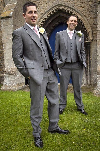Latest Coat Pant Designs Grey Mens Wedding Suit Loose Classic Groomsmen Suits Custom Made 3 Pieces Tuxedo Terno Masculino S