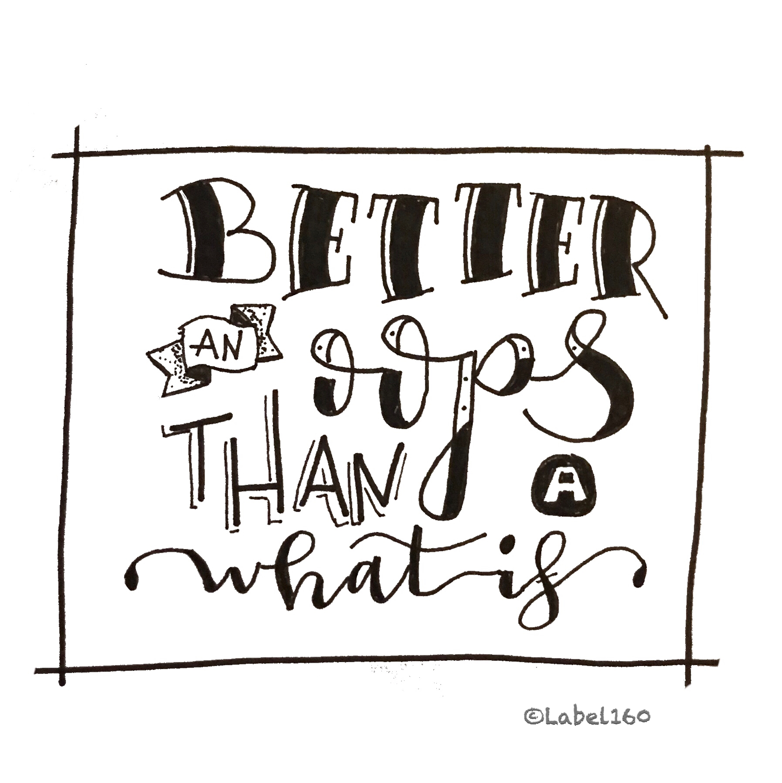 Easy Doodles Design Quotes Letter Art Hand Lettering Quote Typography Handwriting Bullet Journal Tiny House