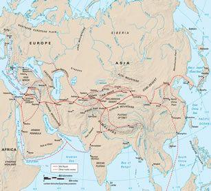 Tian Shan Mountains East Asia Map 1092 | LOADTVE