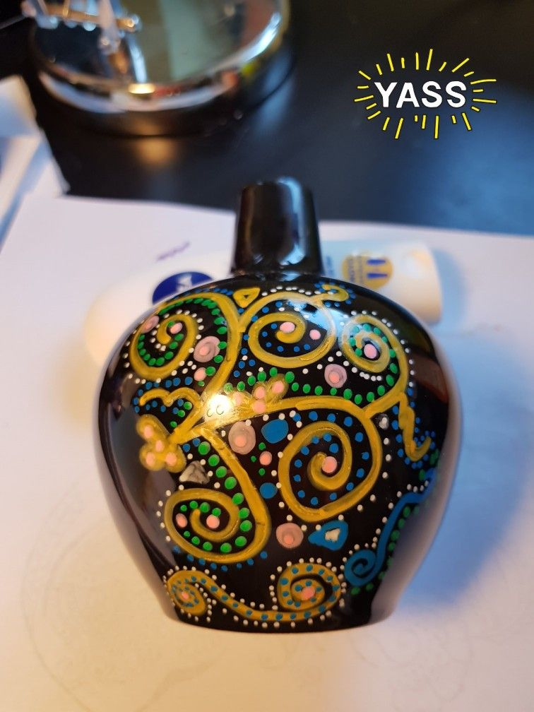 Painting With Acrylic Paint Pens Selectbeto On Ceramics And