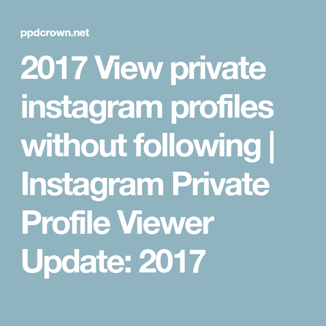 Photos following private to without instagram how view 3 Ways