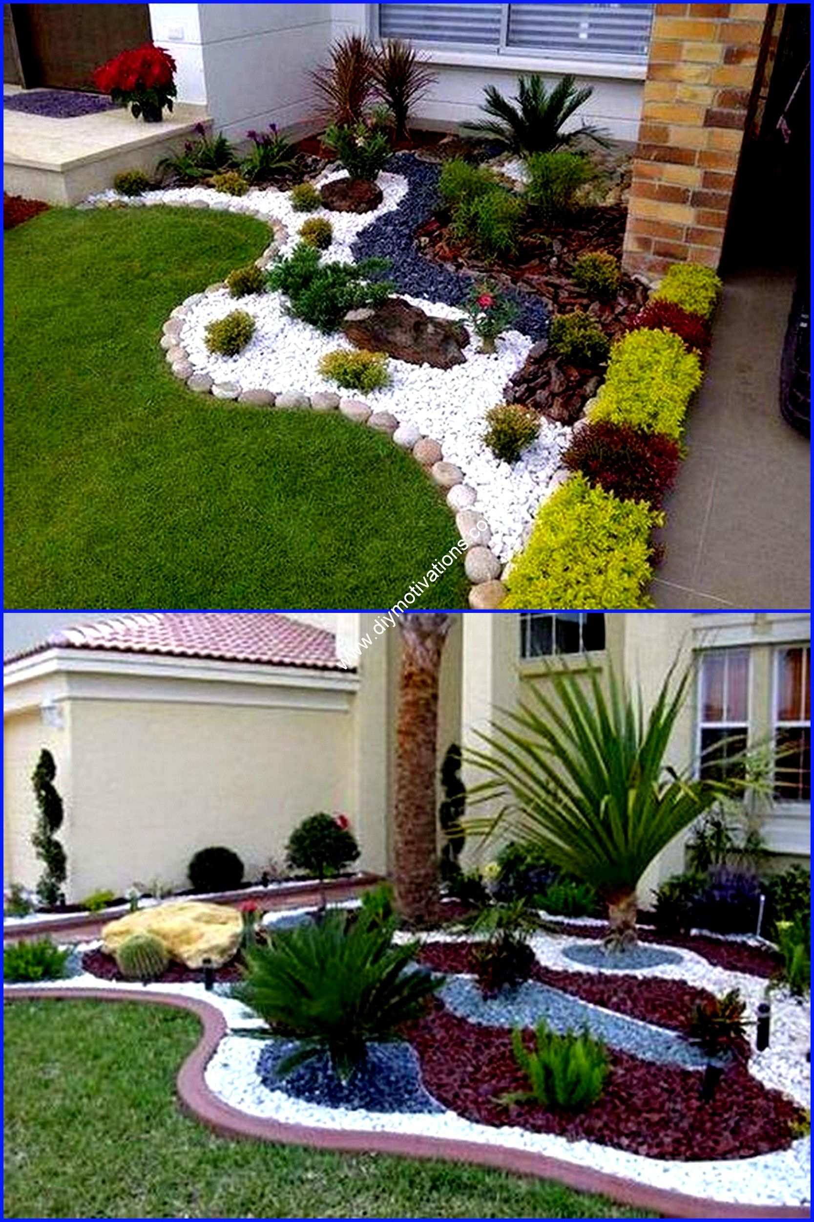 12 Fotos De Ideas De Paisajismo De Jardin Pequeno Jardin Decoracionhogar99 Com En 2020 Jardines Diseno De Jardin Jardin Con Palmeras