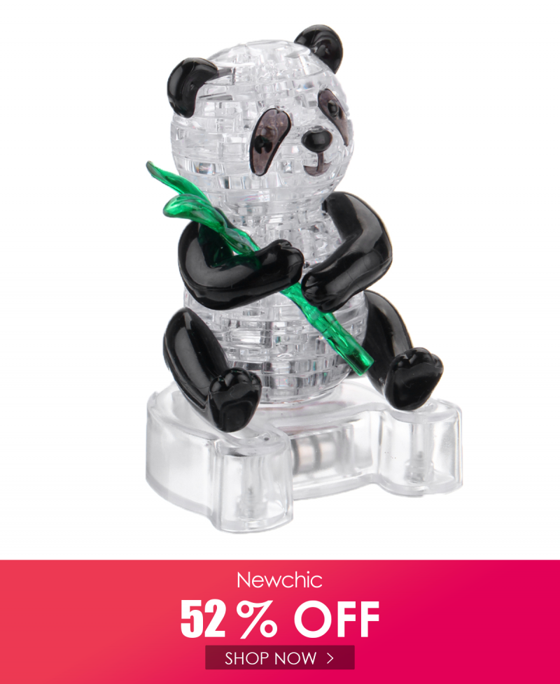 I Found This Amazing 3d Crystal Puzzle Panda Light Jigsaw Brainteaser Build Your Own Model Animal With Au 12 71 A In 2020 Crystals And Gemstones Crystals Brain Teasers