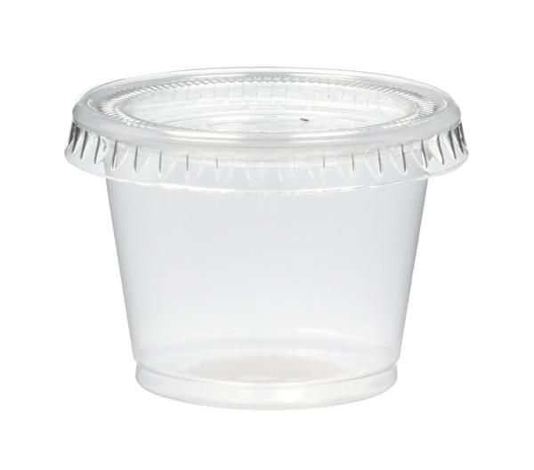 Pack of 25 Round Clear Plastic Storage Tubes 6/""