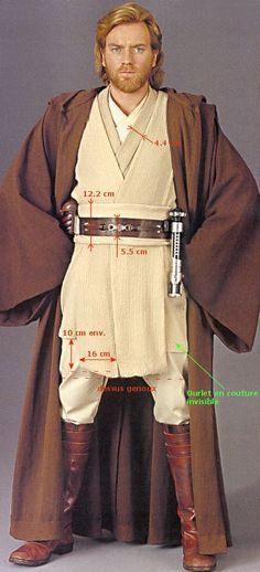 Plecter Labs - Articles - DIY Projects & Props - My Jedi Costume ...
