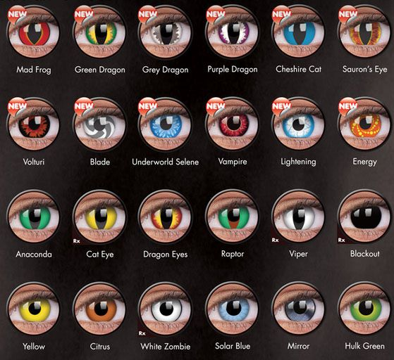 crazy contact lenses crazy lens chart halloween contactscolor - Contact Lenses Color Halloween