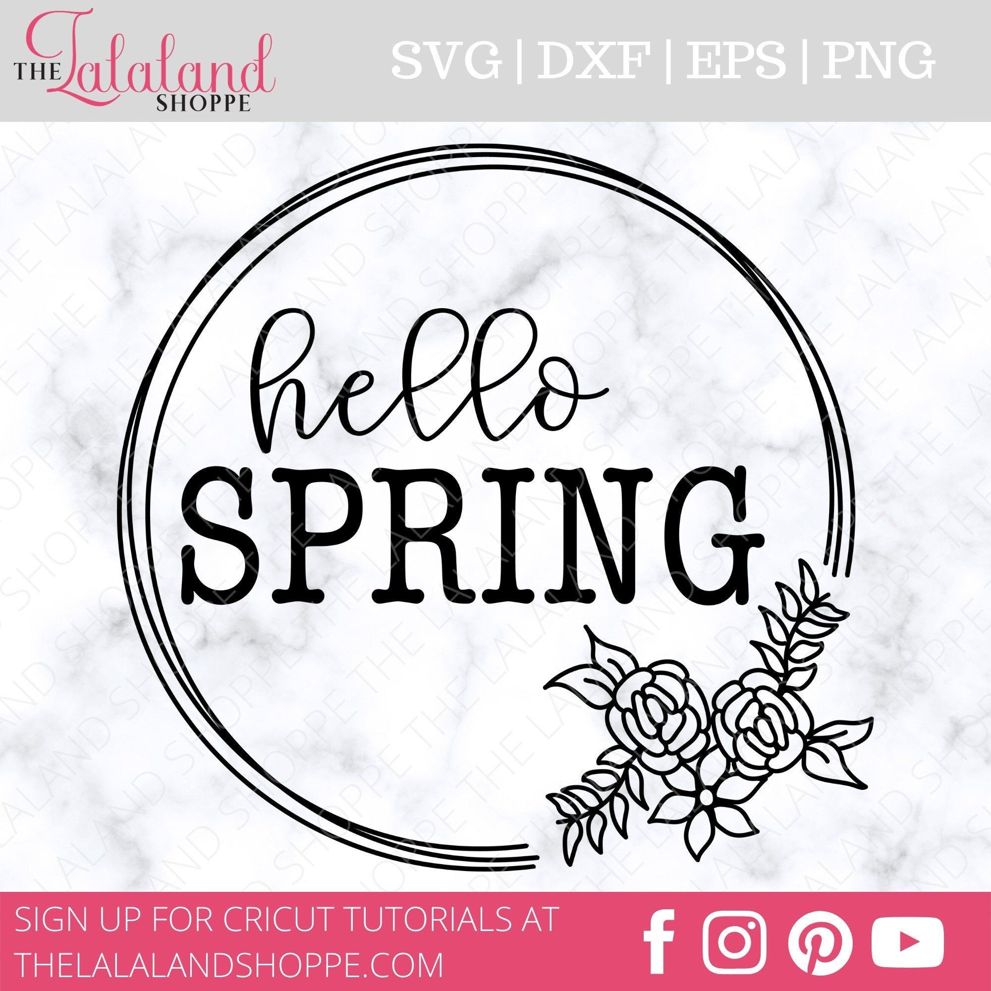 Hello Spring Svg Spring Svg Spring Sign Svg Springtime Etsy In 2020 Spring Sign Hello Spring Hello Spring Sign