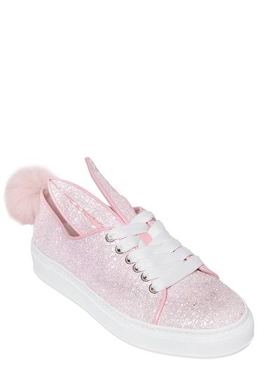 ALL EARS LOW TOP SNEAKERS WITH BUNNY EARS - CHAUSSURES - Sneakers & Tennis bassesMinna Parikka